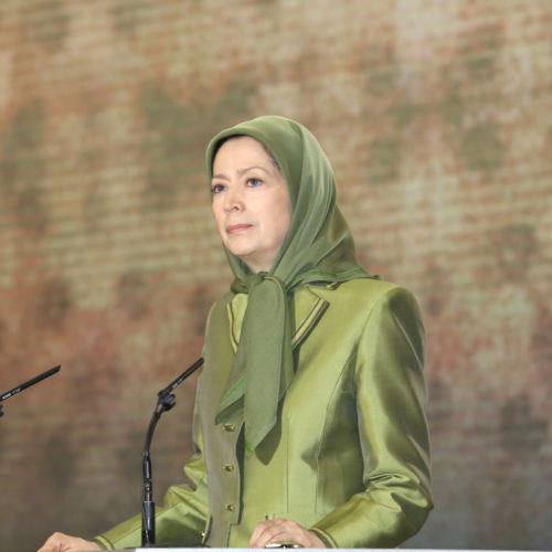 سخنان مریم رجوی درافطار ماه مبارک رمضان- ۱۳۹۸