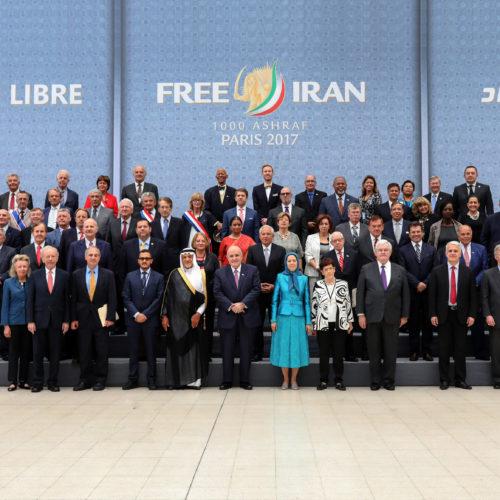 گردهمایی بزرگ برای ایران آزاد با حضور مریم رجوی – سالن ویلپنت پاریس -۱۰ تیرماه۱۳۹۶
