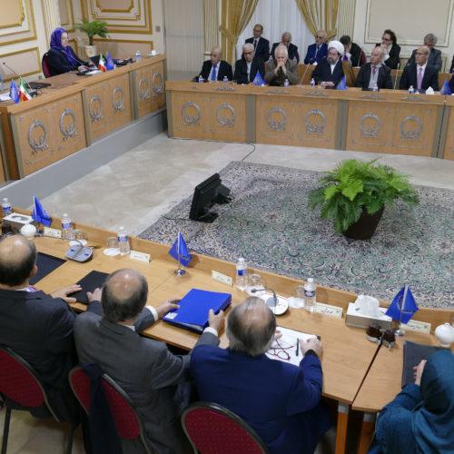 اجلاس میاندورهیی شورای ملی مقاومت ايران-۲۷ دی ۱۳۹۶