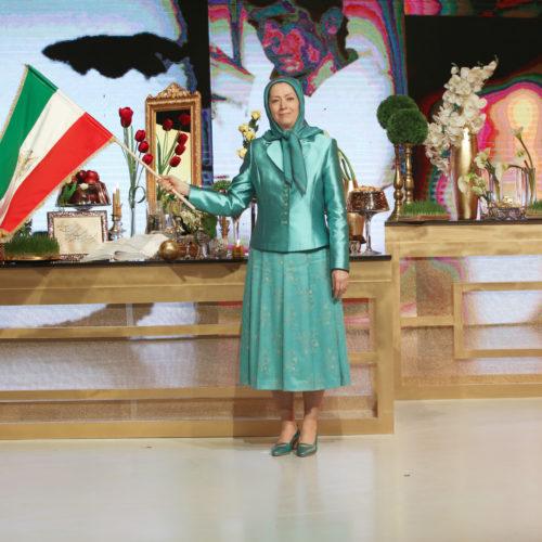 مریم رجوی در گردهمایی بهمناسبت سال نو ایرانی-۲۹ اسفند ۱۳۹۶