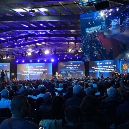 مریم رجوی در کنفرانس بین المللی جوامع ایرانی - ۲۴ آذر ۱۳۹۷
