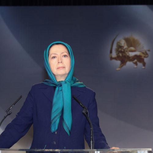 مریم رجوی در بزرگداشت مجاهد صدیق محمد سیدی کاشانی -۲۹ آذر۱۳۹۷