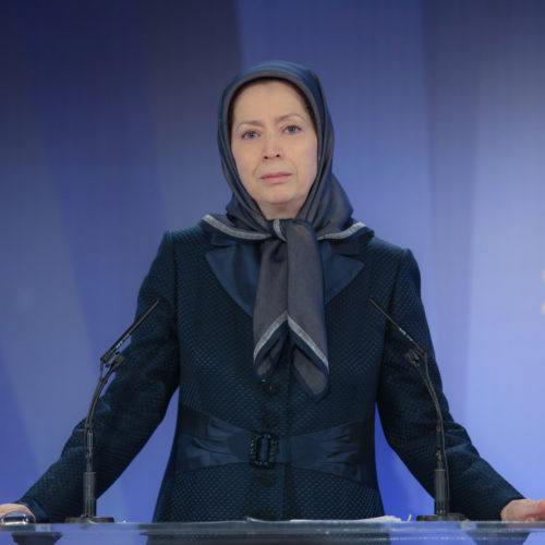 مریم رجوی – بزرگداشت حماسه ۱۹ فروردین ۱۳۹۰- ۱۹فروردین ۱۳۹۸