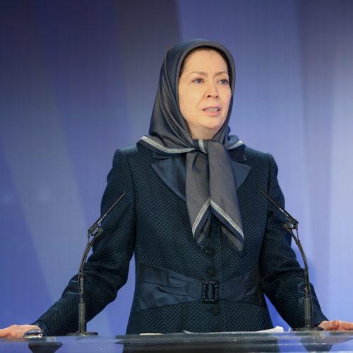 مریم رجوی - بزرگداشت حماسه ۱۹ فروردین ۱۳۹۰- ۱۹فروردین ۱۳۹۸