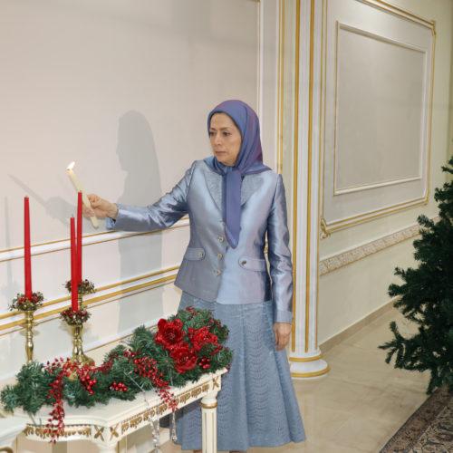 پیام مریم رجوی بهمناسبت میلاد مسیح – دی ۱۳۹۸