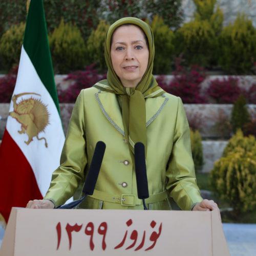 پیام مریم رجوی بهمناسبت سال نو ایرانی-۱فروردین ۱۳۹۹