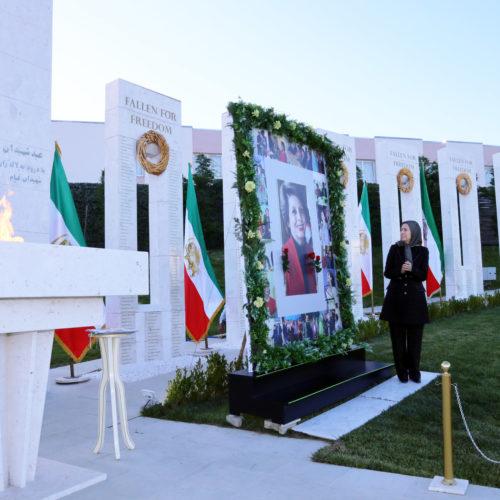 مراسم گرامیداشت مرجان هنرمند محبوب مردم ایران – اشرف ۳ – خرداد ۹۹