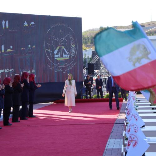 مریم رجوی در جشن سالگرد تاسیس سازمان مجاهدین در اشرف ۳- ۱۵شهریور ۱۳۹۹