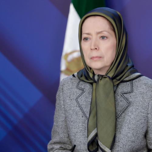 مریم رجوی در کنفرانس  ایران- استمرار جنایت علیه بشریت در پارلمان اروپا- ۱۶مهر ۹۹