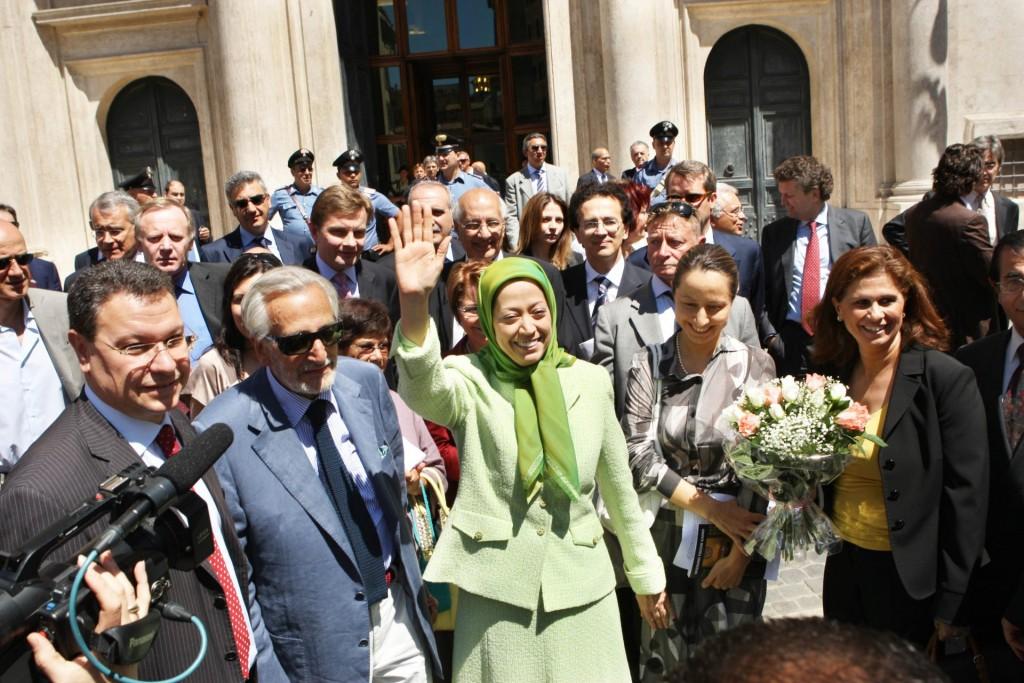 ملاقات با شهردار روم در ایتالیا