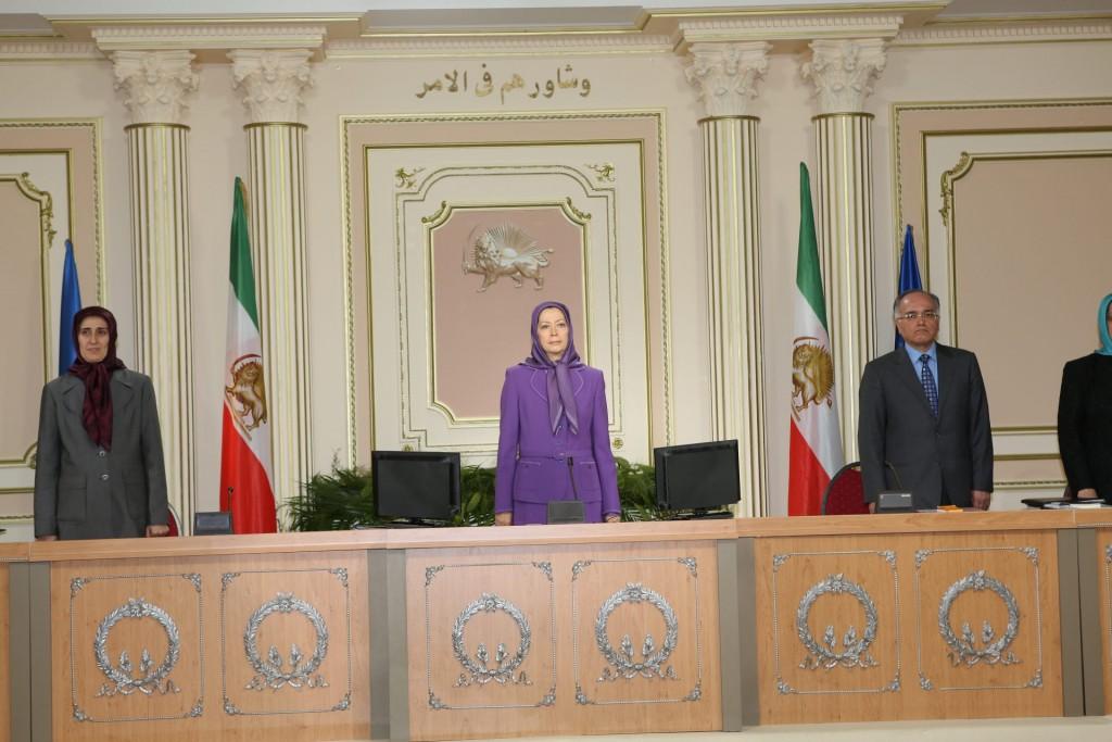 اجلاس سه روزه شورای ملی مقاومت ایران-۱۲ تیر, ۱۳۹۲