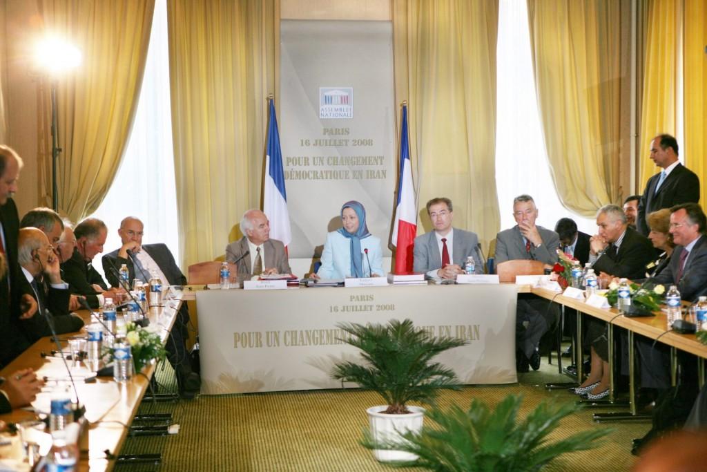 حمایت اکثریت مجلس فرانسه از راه حل سوم برای تغییر دموکراتیک در ایران