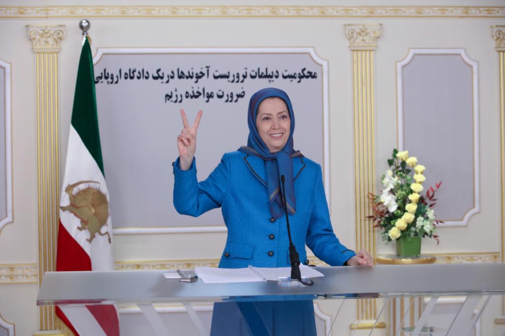 کنفرانس جهانی همزمان با محکومیت دیپلمات تروریست رژیم آخوندی در یک دادگاه اروپایی
