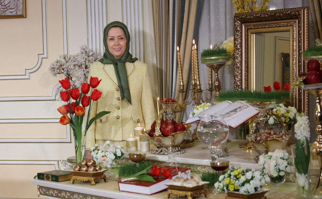 مریم رجوی: تیک تاک تحویل سال، صدای پای قیامکنندگان برای سرنگونی استبداد مذهبی