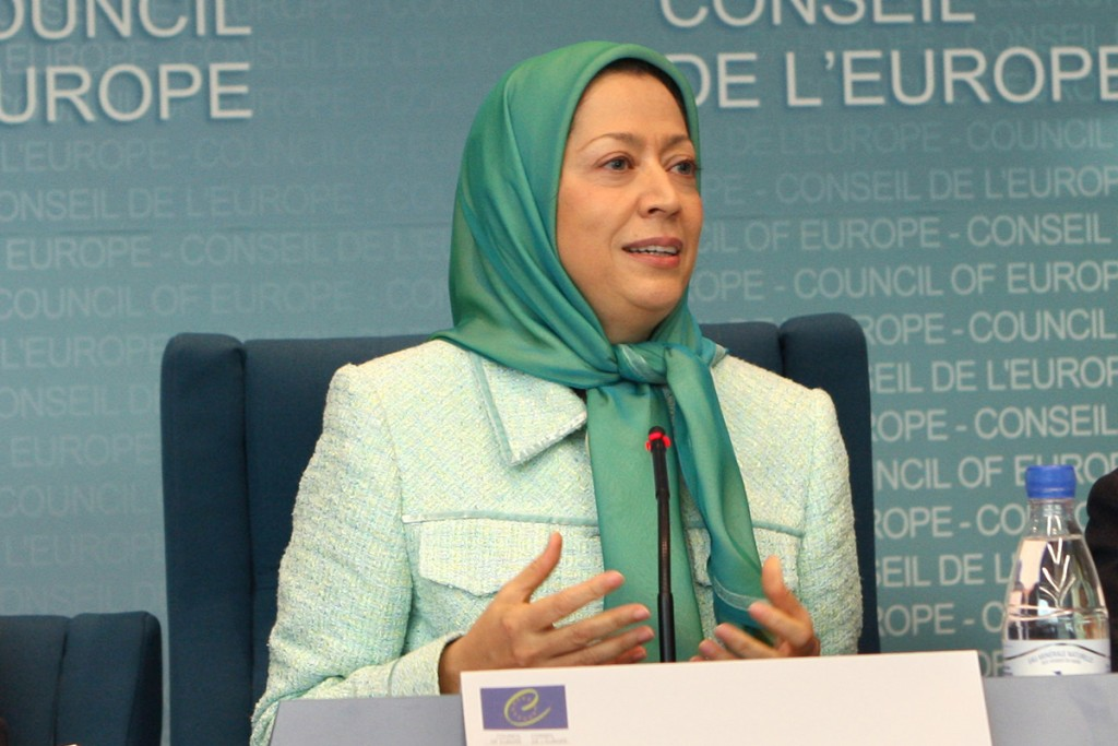 مصاحبه خبرگزاری فرانسه با مریم رجوی