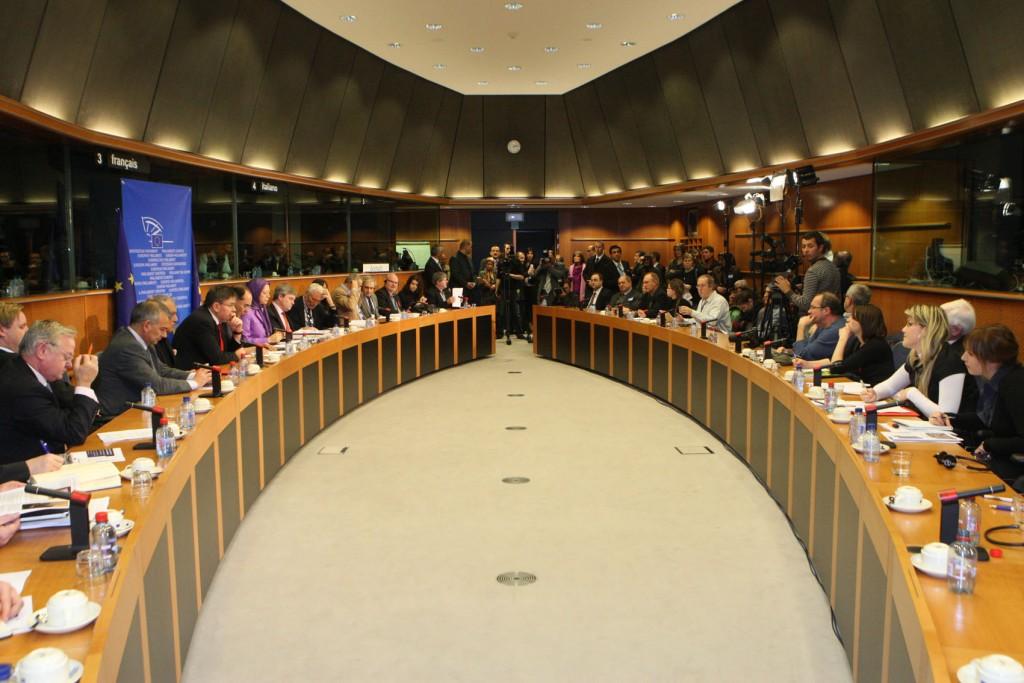 سخنرانی در کنفرانس بینالمللی در بروکسل