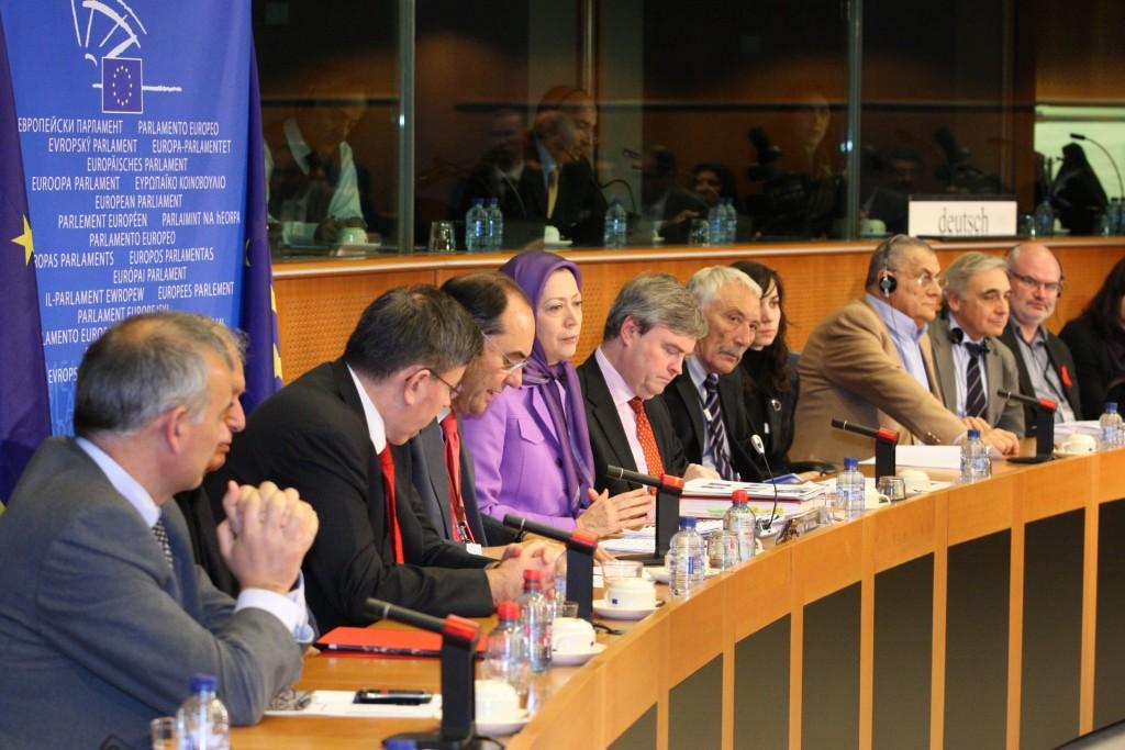 سخنرانی در اجلاس پارلمان اروپا