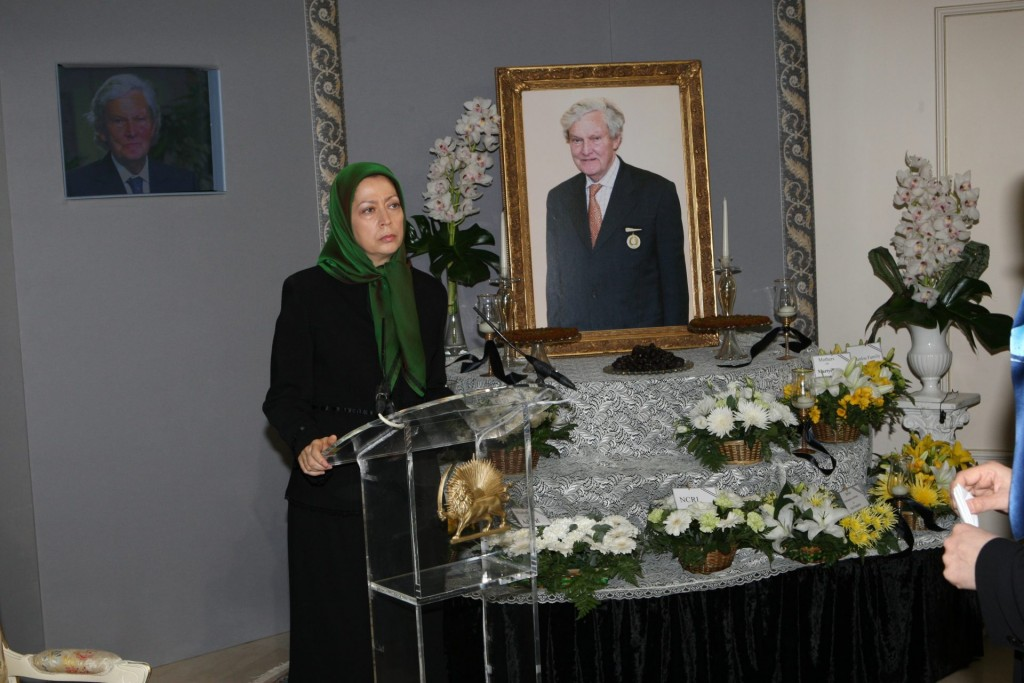 سخنرانی در بزرگداشت لرد اسلین فقید