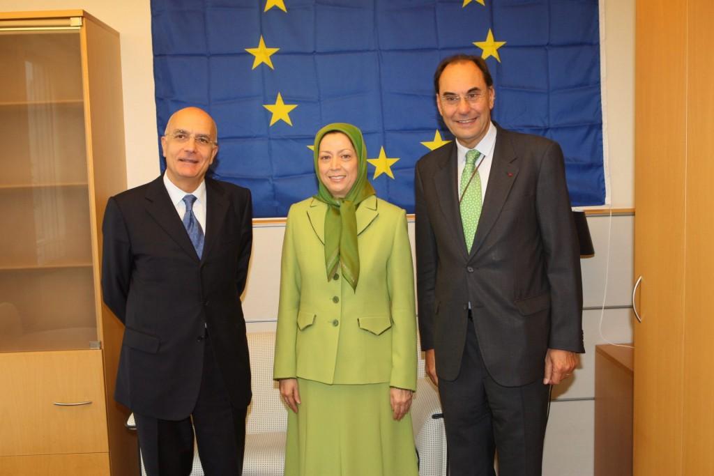 ملاقات: رئیس کمیسیون خارجی پارلمان اروپا