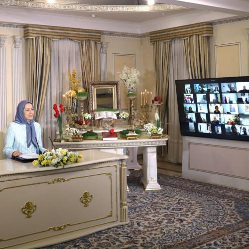 سخنرانی سناتور آلن نری در کنفرانس اینترنتی بهمناسبت نوروز -اورسوراواز