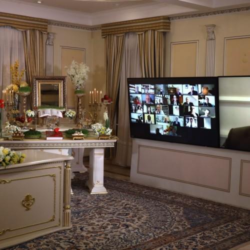 سخنرانی ژان پیر مولر شهردار سابق مانی آن وکسن در کنفرانس اینترنتی بهمناسبت نوروز -اورسوراواز