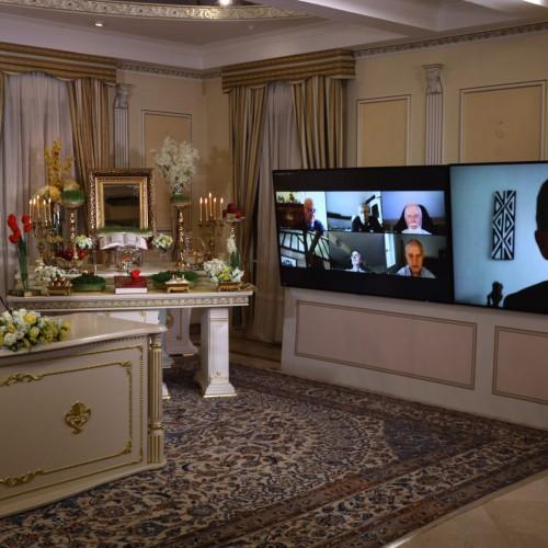 سخنرانی ژیل پاروئل وکیل مقاومت ایران در کنفرانس اینترنتی بهمناسبت نوروز -اورسوراواز
