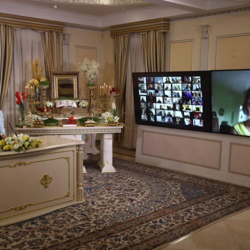 سخنرانی سیلوی فاسیه شهردار سابق لوپن در کنفرانس اینترنتی بهمناسبت نوروز -اورسوراواز