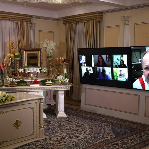 سخنرانی گی اشمیت شهردار شهر سولتز له پن در کنفرانس اینترنتی بهمناسبت نوروز -اورسوراواز