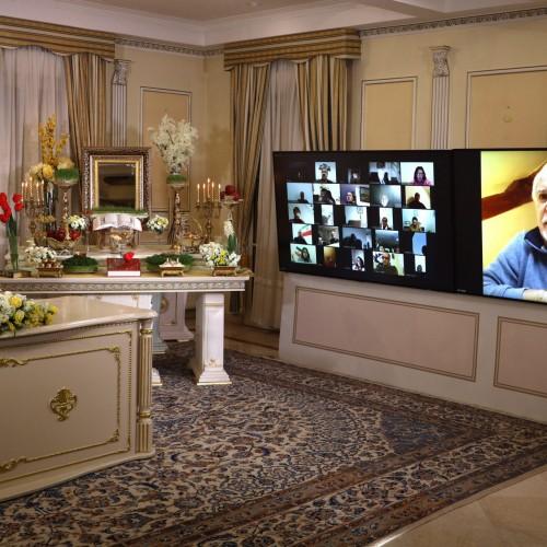 سخنرانی ارماند ژاکمن شهردار  موسی لوویو در کنفرانس اینترنتی بهمناسبت نوروز –اورسوراواز