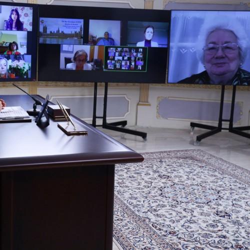 سخنرانی بارونس هریس معاون پیشین مجلس اعیان انگلستان درکنفرانس اینترنتی بهمناسبت روز جهانی زن - ۱۸اسفند ۱۳۹۹