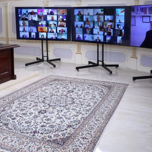 سخنرانی استراون استیونسون رئیس کارزار تغییر برای ایران درکنفرانس اینترنتی در بهمناسبت روز جهانی زن- ۱۸اسفند ۱۳۹۹