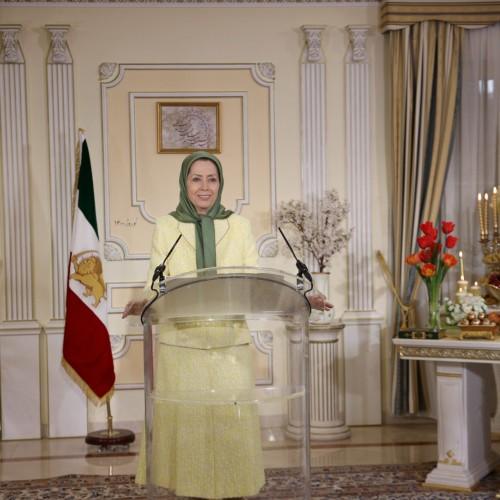 مریم رجوی درگردهمایی بهمناسبت سال نو ایرانی۱۴۰۰ -۳۰ اسفند ۱۳۹۹