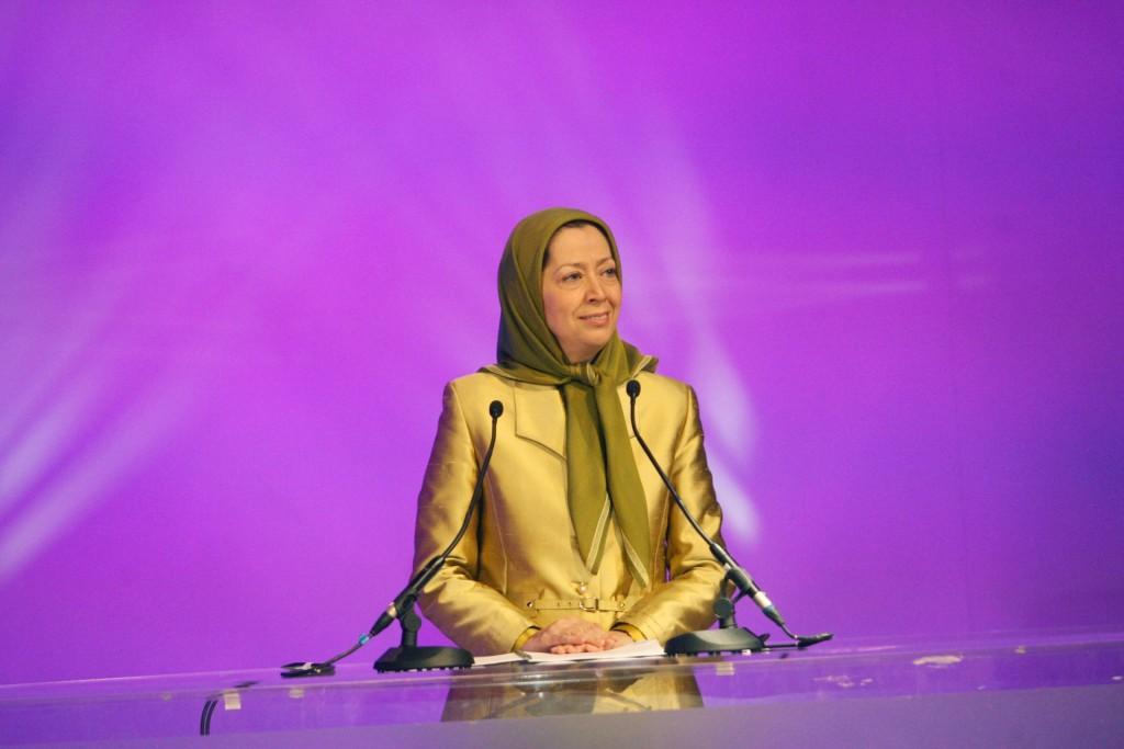 روزنامه اونیتا: مریم رجوی: نوبت ایران هم خواهد رسید