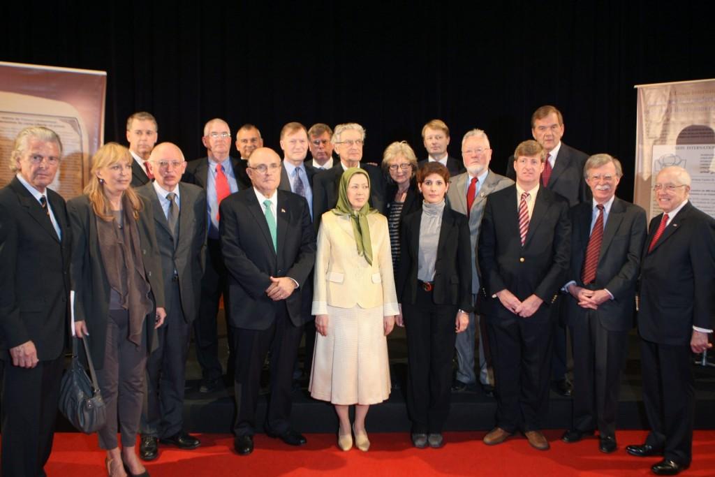 سخنرانی در کنفرانس بینالمللی پاریس