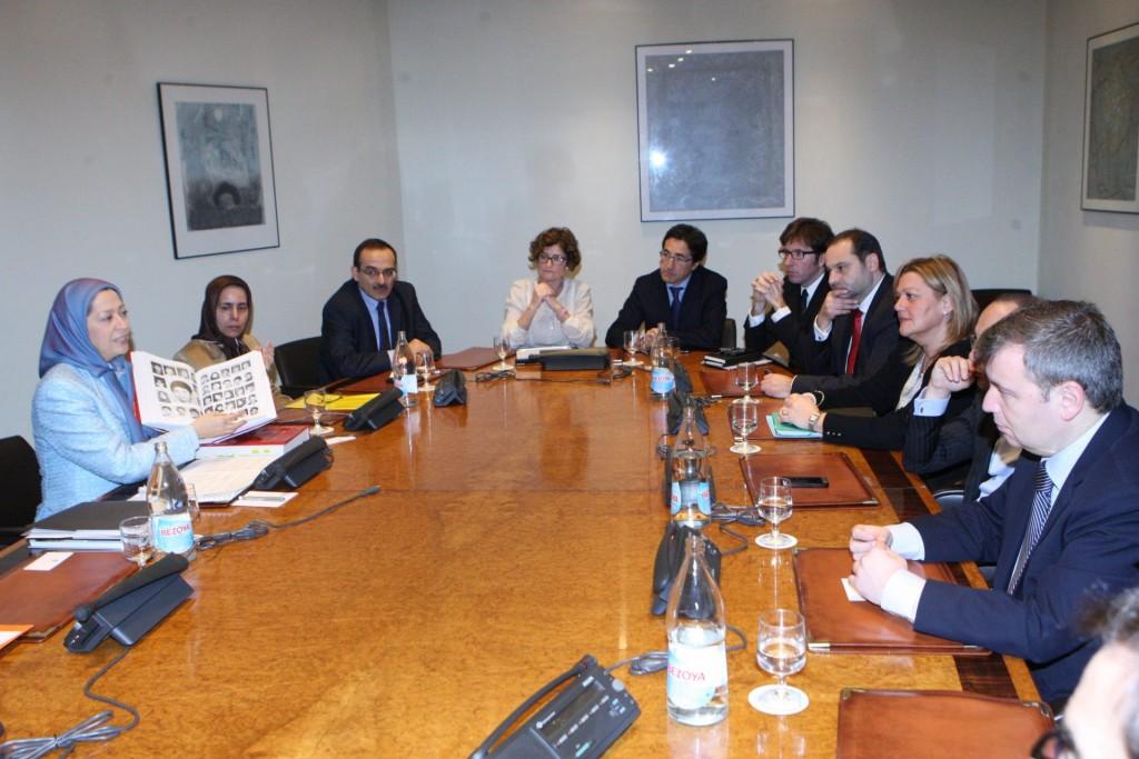 پارلمان اسپانیا ـ اجلاس کمیسیون حقوقبشر