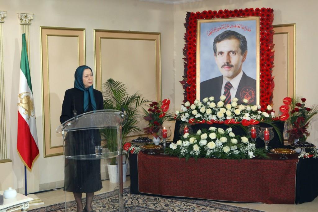 پیام بهمناسبت شهادت غلامحسین کامبیز اشرفی