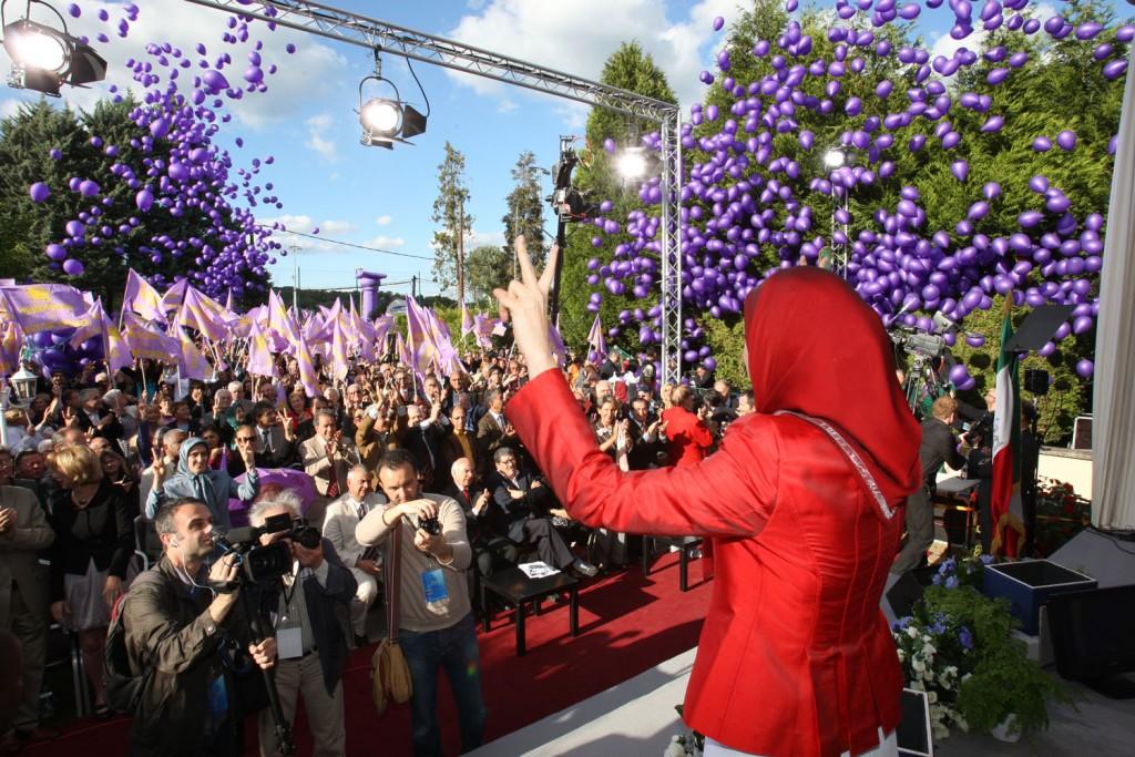 تبریک به مردم ایران و رهبر مقاومت، به مجاهدین در اشرف و لیبرتی، به شورای ملی مقاومت ایران و یاران اشرف نشان