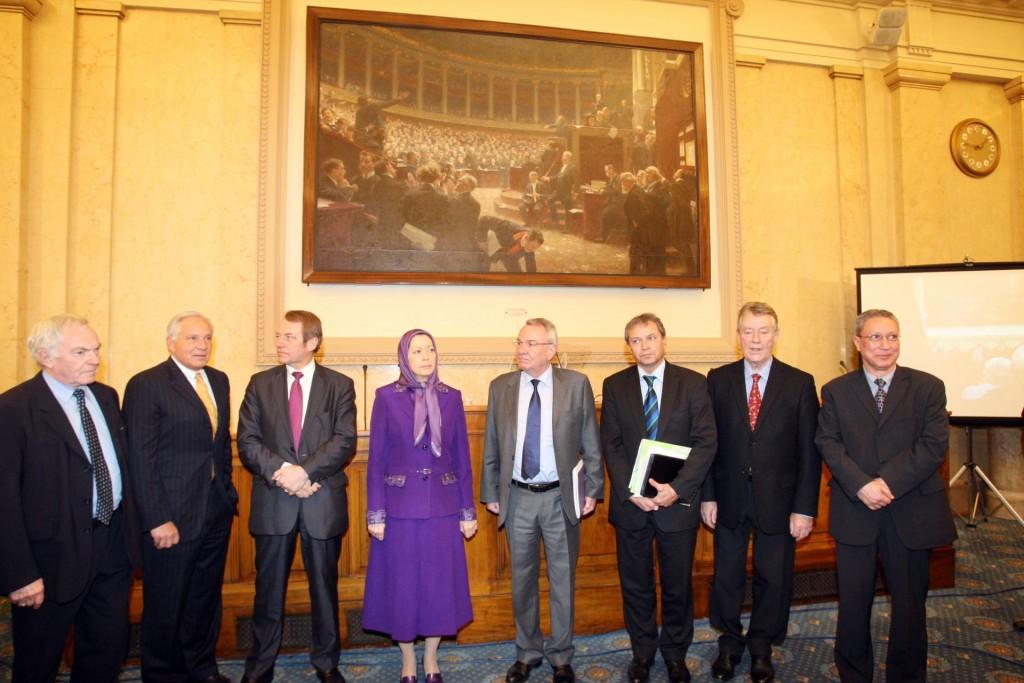 سخنرانی مریم رجوی در مجلس ملی فرانسه