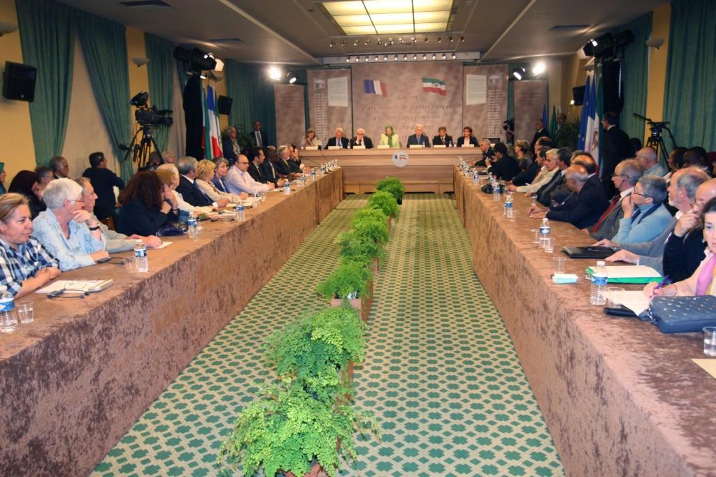 بیانیه اکثریت نمایندگان مجلس ملی فرانسه در حمایت از مقاومت ایران