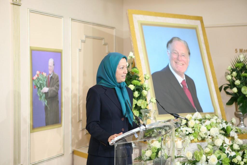 رابین کوربت، وجدان والای مردم و نمایندگان مردم انگلستان، دوست بزرگ مقاومت ایران،جاودانه شد