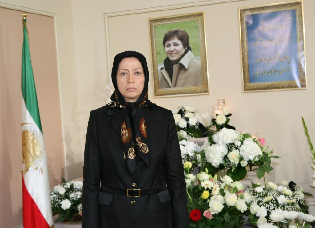 در سوگ خواهر مجاهد «فروغ حسنی»، مادر قهرمان شهید مقدس ندا حسنی