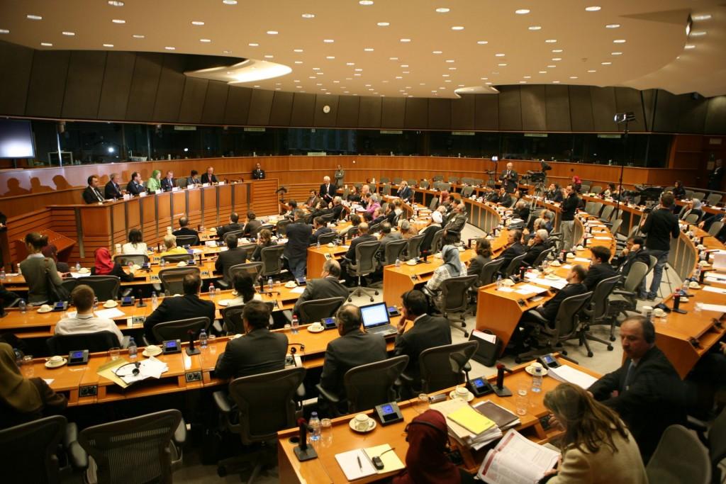 دیدار از پارلمان اروپا