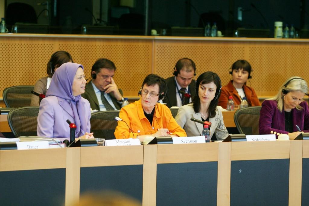 اجلاس زنان پیشتاز تغییردمکراتیک در ایران، در پارلمان اروپا