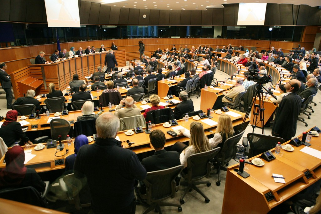 سخنرانی در پارلمان اروپا