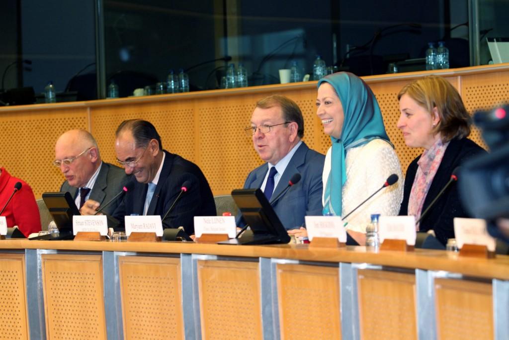 اجلاس پارلمانی در مقر پارلمان اروپا ـ بروکسل