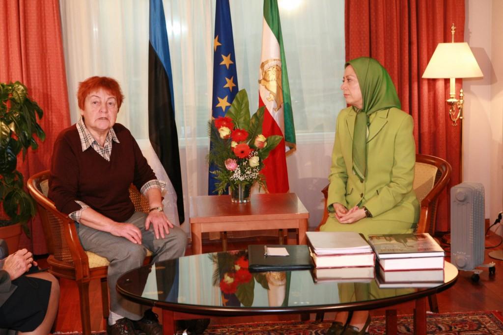 دیدار با مبارز نامدار آزادی و استقلال در استونی