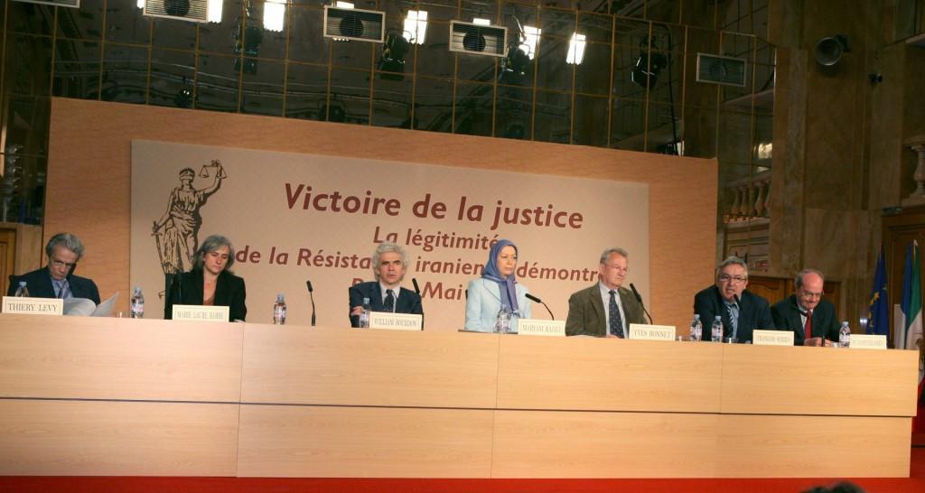 کنفرانس پاریس ـ پیروزی عدالت ـ اثبات حقانیت مقاومت ایران