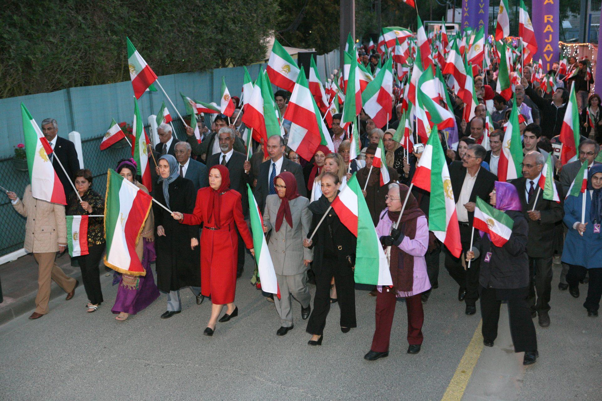 سخنرانی در جشن پیروزی در اورسورواز
