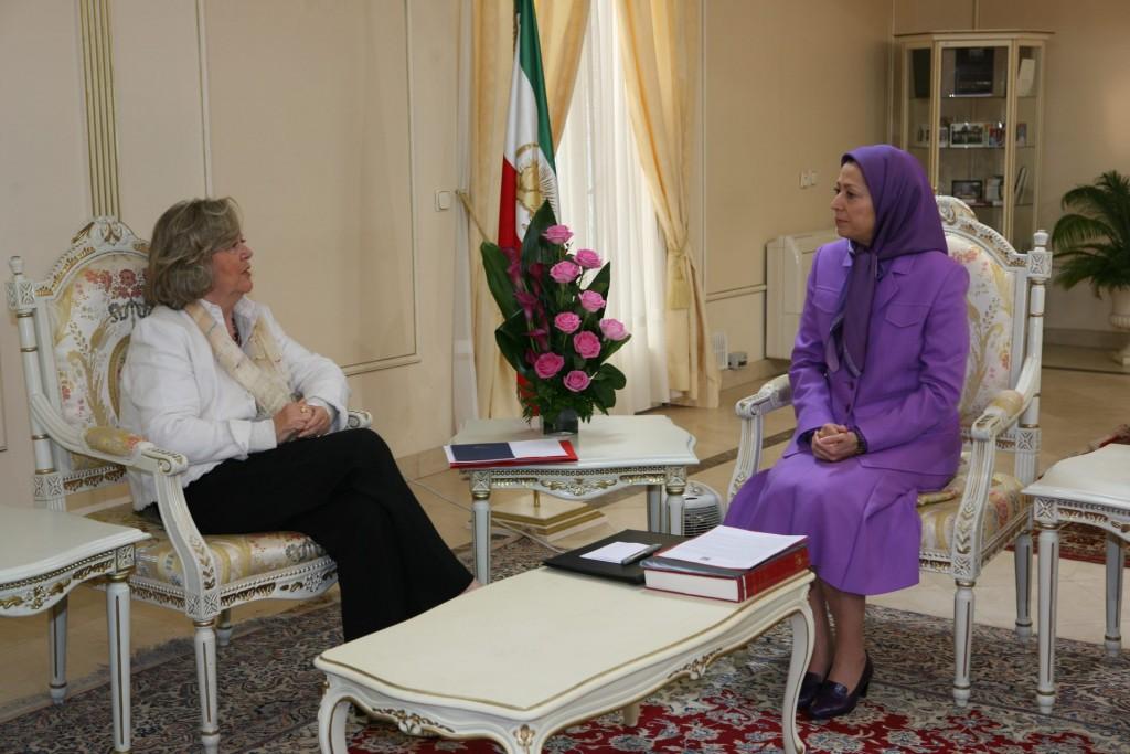 ملاقات با رئیس افتخاری سنای بلژیک