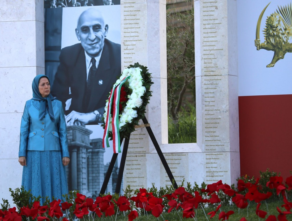 مریم رجوی: سلام بر مصدق بزرگ پیشوای فقید نهضت ملی ایران